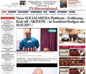 Neue SOCIALMEDIA Plattform – Eröffnung – Kick off – SKIDOW – in Frankfurt Rodgau am 04.02.2017