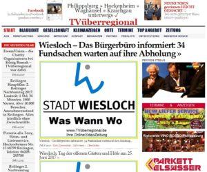 Wiesloch – Das Bürgerbüro informiert: 34 Fundsachen warten auf ihre Abholung