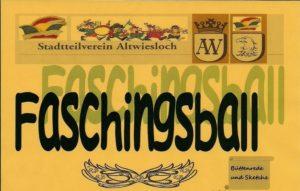 Wiesloch - Faschingsball des Stadtteilvereins Altwiesloch