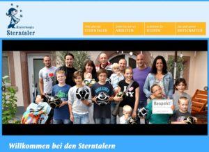 Willkommen bei den Sterntalern Der Mannheimer Verein Kinderhospiz Sterntaler e. V. unterstützt lebensverkürzend erkrankte Kinder sowie deren Familien und begleitet sie auf ihrem schweren Weg. Wenn Sie mehr über die Arbeit der Sterntaler erfahren möchten, laden wir Sie herzlich ein, sich auf unserer Homepage näher zu informieren.