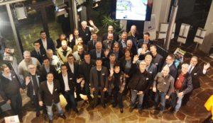 HOCKENHEIM: Unternehmer-Treffen informiert sich über Photovoltaik-Technik