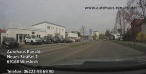 Autohaus Ranaldi Wiesloch - Ansicht beim fahren