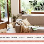 Weinheim: Versuchter Wohnhauseinbruch Blütenweg, Hohensachsen, Geschädigter überrascht Täter