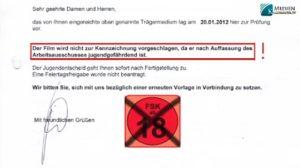 Filmverbot - Wer steckt hinter FSK zensur 18+