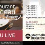 Hockenheim Restaurant Rondeau bei Stadthalle Hockenheim