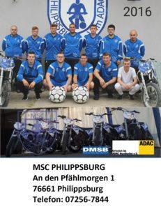 MSC Philippsburg MOTOBALL - schnellste Ballsportart der Welt mit 250 ccm Motorrädern