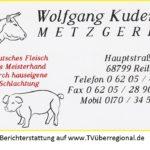 Metzgerei Kuderer in Reilingen sucht eine/n Metzgereifachverkäufer/in – Fachverkäufer/innen im Lebensmittelhandwerk mit dem Schwerpunkt Fleischerei