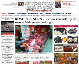 REWE REILINGEN – Suchen Verstärkung für unsere Metzgereiabteilung