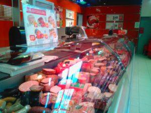 Fleischtheke Rewe Reilingen, Frischfleisch, Metzgerfleisch