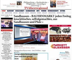 Sandhausen - BAUERNMARKT jeden Freitag knackfrisches, selbstgemachtes, aus Sandhausen und Pfalz