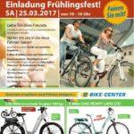 FRÜHLINGSFEST zwischen Wiesloch – Walldorf bei TARI BIKES NÄHE FIT O DROM am 25.03 ab 10 Uhr