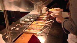 Buffet Restaurant Ladenburg Fodys Fährhaus Werktag Mittagessen
