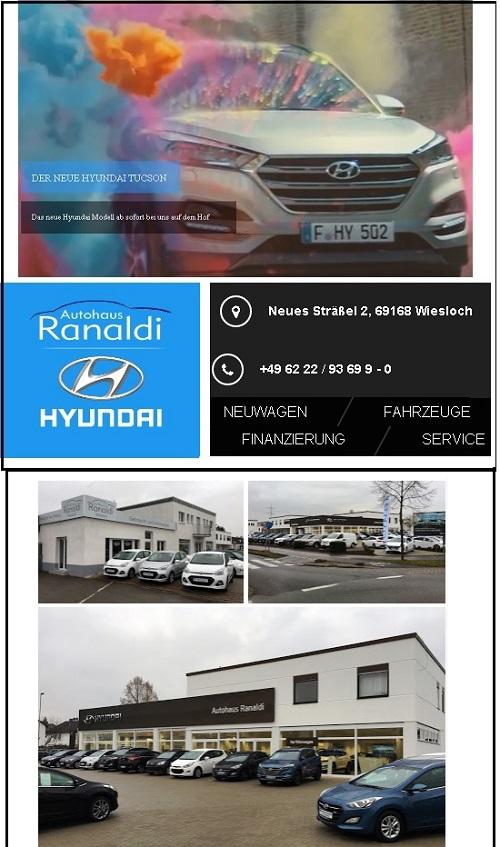 Autohaus Ranaldi Wiesloch Hyundai