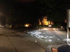 Heidelberg: Erste Abiturientenfeier; Ärger in der Altstadt; POLIZEI SUCHT Zeugen
