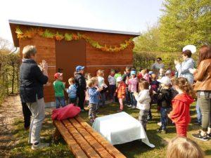 Hockenheim - Neues Holzhaus im Park-Kindergarten