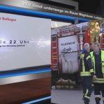 Nussloch: Balkon Brand #Feuerwehr_Nußloch #Feuerwehr_Sandhausen #Blaulichtmeldung