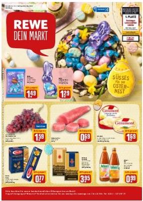 Rewe Angebote In Reilingen Ab 03042017 Bis 08042017 Prospekt