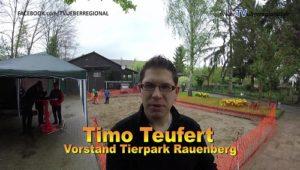 Ostereiersuchen in Kirrlach dann in Rauenberg: Vogelpark Kirrlach und Tierpark Rauenberg