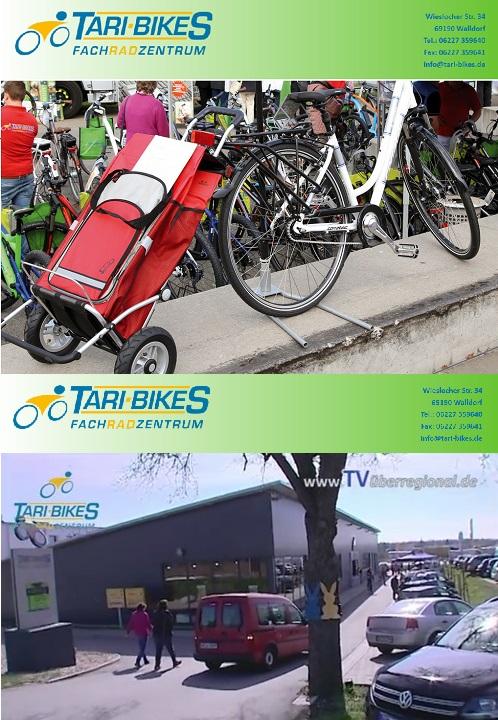 Tari-Bikes e.K. Wieslocher Str. 34 69190 Walldorf Vertreten durch: Kazem Tariwerdian Kontakt: Telefon: 06227 359640 Fax: 06227 359641 E-Mail: info@tari-bikes.de