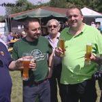 TV Film RHEINSHEIM: Bulldog Buwe Rhose Vatertagfest – Veteranentreffen und Einweihung einer gesponserten Biertheke mit Bierfässer