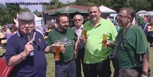 Bulldog Buwe Rhonse Rheinsheim Bulldog-Freunde - Vatertag Veteranentreffen histrorischer Fahrzeuge TVüberregional