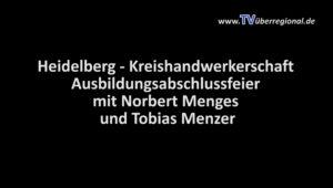 Heidelberg - Kreishandwerkerschaft übergibt Gesellenbriefe (1)