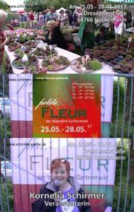 Petite Fleur 2017 in Hockenheim - Gartenmesse - zauberhafte Reise durch die Welt der Gartenträume