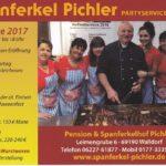 03.10.17 SPANFERKEL HOF FEST, LEIMENGRUBE 6, WALLDORF. Zwischen Reilingen und Walldorf Spanferkel Pichler