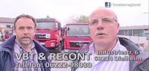 VBT - RECONT - Erdarbeiten - Abbrucharbeiten - Dielheim