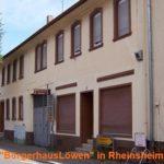 Bürgerhaus Löwen Rheinsheim – Geldanlage mit Zukunft und Gewinn