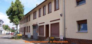 Bürgerhaus zum Löwen Rheinsheim - beste Geldanlage