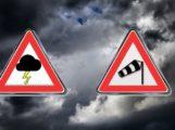 EXTREME UNWETTER WARNUNG – Hagel – Gewitter – schwere Sturmböen