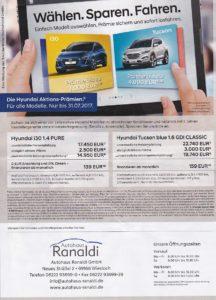 Auto Angebote - FÖRDERMITTEL nutzen - Autohaus Ranaldi Wiesloch - nur bis 30.06.2017