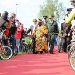 WORLD-KLAPP – 200 JAHRE KLAPPRAD – 11. JUNI 2017 IN MANNHEIM – Majestät KING TOGBUI NGORYIFIA CÉPHAS KOSI BANSAH ist Schirmherr der Veranstaltung