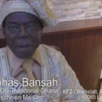 König Cephas Kosi Bansah aus Ludwigshafen zu Gast im Asia Paradies Mannheim