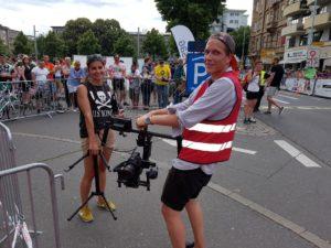 KURZER TV Filmbeitrag Mannheim: World-Klapp Monnem 2017 - 200 Johr Klapprad-- Rosana und Max – wieder ein lockerer Film-Job