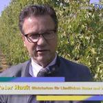 Dielheim – HOHER BESUCH BEI OBSTBAU FREUDENSPRUNG #Dielheim #Kraichgau