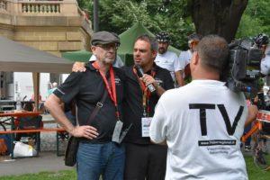 TV Filmbeitrag Mannheim: World-Klapp Monnem – 11. Juni 200 Jahre Klapprad Schirmherr ist König Cephas Bansah von TVüberregional und weitere Kamerateams