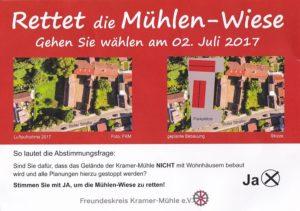 Rettet die Mühlenwiese - Kramer Mühle St. Leon - Rot (2)