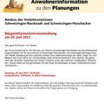 SCHWETZINGEN: Neubau der Verkehrsstationen Schwetzingen-Nordstadt und Schwetzingen-Hirschacker