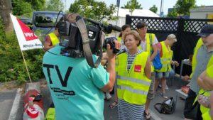 TV BEITRAG - Walldorf: STREIK BEI IKEA - WIRTSCHAFTLICHE ABSICHERUNG DER FAMILIEN