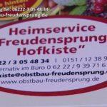 TV BEITRAG: Freudensprung Obstbau Heimlieferservice