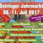 Östringen lädt zum großen Ulrichsmarkt ein, 08.07. bis 11.07.2017