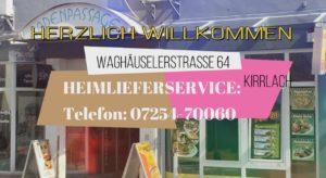 Kirrlacher Döner Pizza Haus durch QUALITÄT, SERVICE seit über 10 Jahren in Kirrlach... ... wir halten unser versprechen und sind immer für unser Kunden da. ... Wunschgerichte jederzeit WILLKOMMEN Waghäuselerstraße 64 68753 Kirrlach HEIMLIEFERSERVICE: ab nur 20 Euro Telefon: 07254-70060 Facebook: https://www.facebook.com/KirrlacherPizza Onlinezeitung: http://www.kirrlacher-pizza.de #kirrlach_salate_nach_wunsch #kirrlach_döner_spezialitäten #kirrlach_kirrlach_kirrlach_döner_pizza_haus #kirrlach_heimservice_döner_pizza