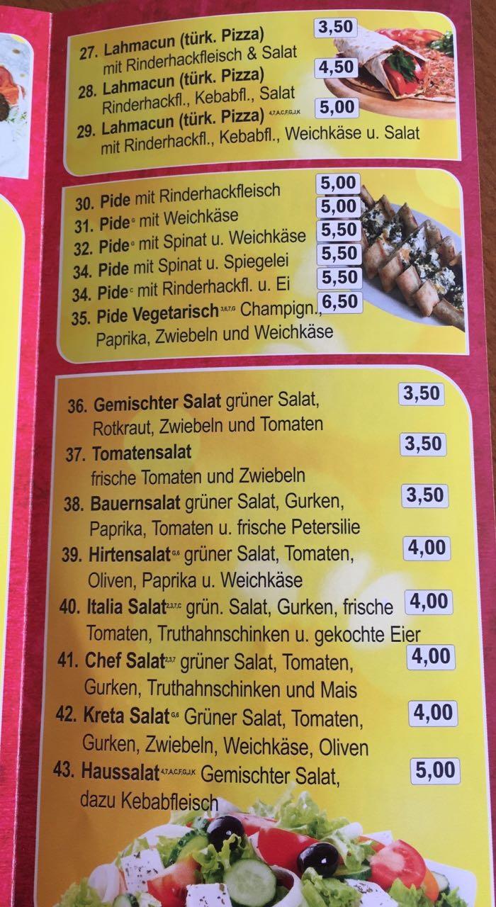 Kirrlacher Döner und Pizza Haus - Sparmenü und Preisliste von Kirrlacher für Kirrlacher Seite 05 Pizzaheimlieferservice Dönerheimlieferservice Kirrlacher Pizzahaus Service