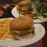 Ladenburg: Restaurant Fodys Fährhaus, Römerpfännchen und Burgerparadies