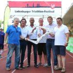 Ladenburger Triathlon-Festival denkt auch an das Kinderhospiz