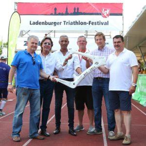 Ladenburger Triathlon-Festival denkt auch an das Kinderhospiz, restaurant ladenburg fodys fährhaus, willy koch,