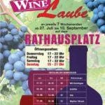 RAUENBERG / KRAICHGAU: Neue Wege beschreiten die Rauenberger Winzer- Interessengemeinschaft der Rauenberger Winzer eV, Rauenberger Weinlaube startet am 27. Juli
