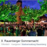 8. Rauenberger Sommernacht bis 9.07.2017 um 20 Uhr